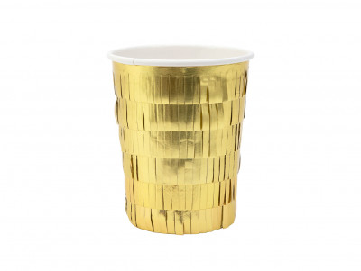 Gobelets à franges dorés