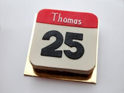 Gâteau Jour J avec mousse aux deux chocolats