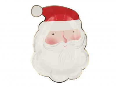 Assiettes Père Noël