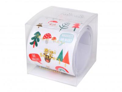 Mini-stickers de Noël