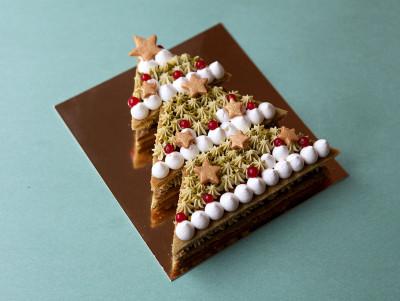 Sapin Number Cake