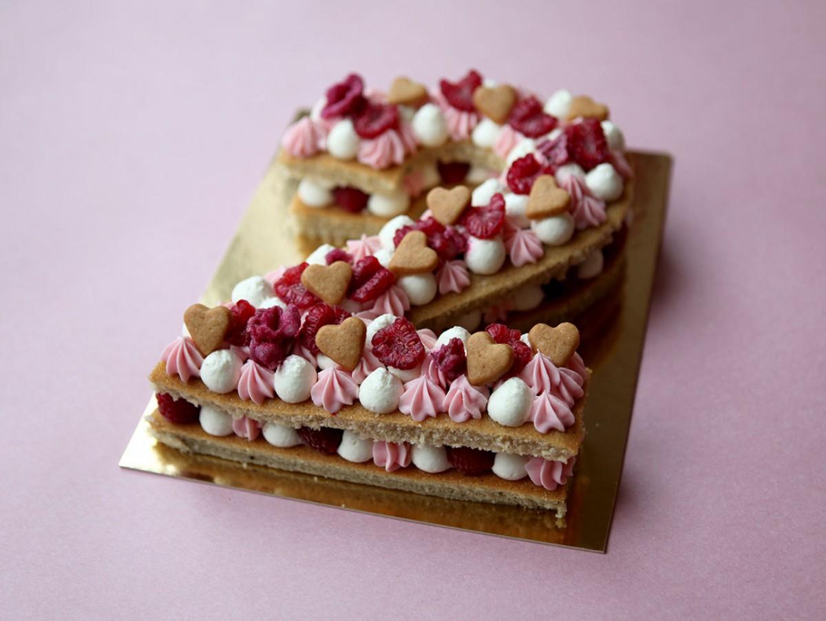 Number Cake rose