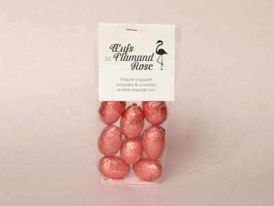 Œufs de flamant rose