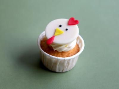 Cupcake Poule