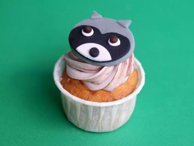 Cupcake Raton laveur