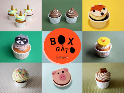 Box of 5 Cupcakes
