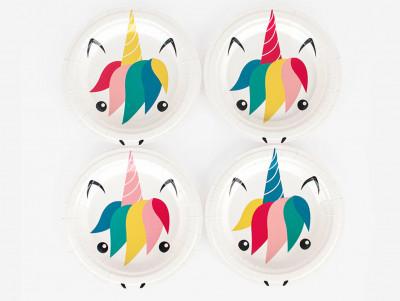 Assiettes Minis-licornes