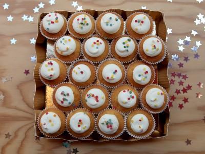 Mini Cupcakes Confettis