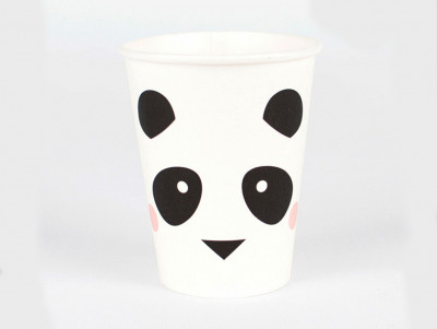 Serviettes Minis-panda