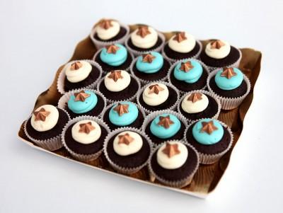 Mini Cupcakes étoilés
