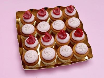 Mini Cupcakes Rose