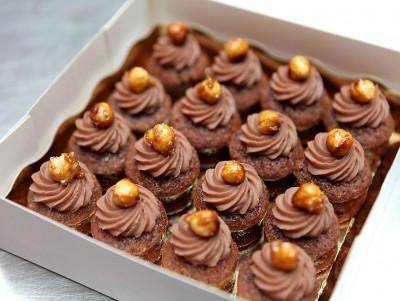 Mini moelleux Choco-noisettes
