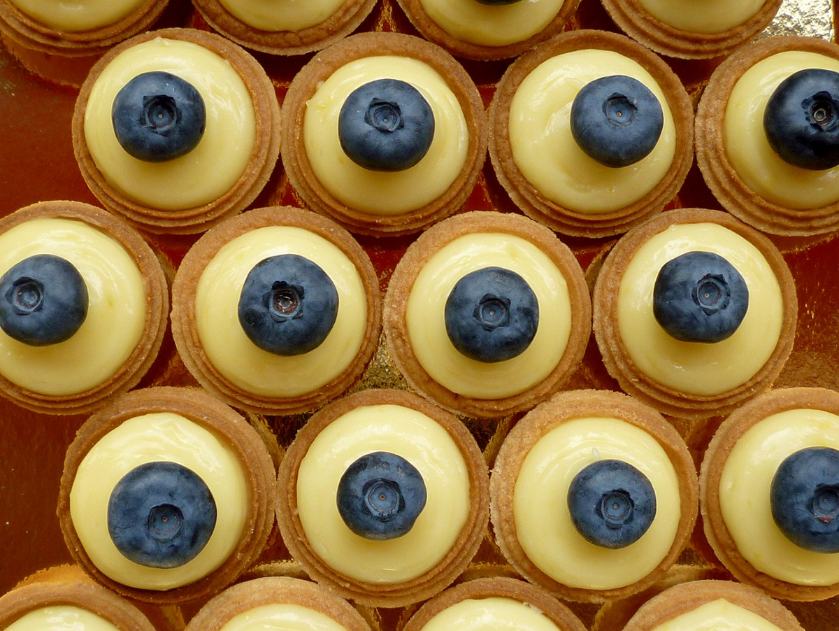 Mini Tartelettes Citron-Myrtilles