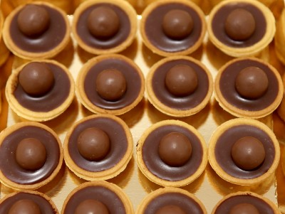 Mini Tartelettes Maltesers