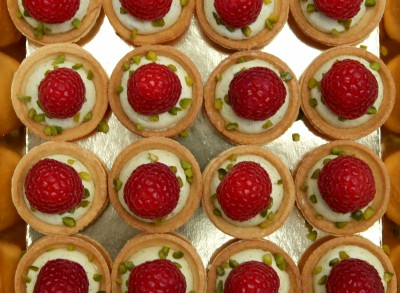 Mini Tartelettes Pistache Framboise