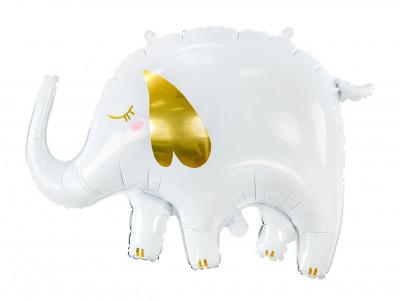 Ballon Elephant blanc