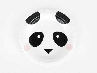 Assiettes Minis-panda