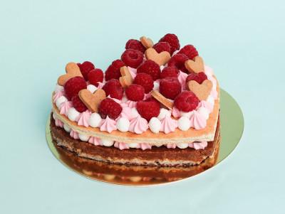 Cœur façon Number Cake