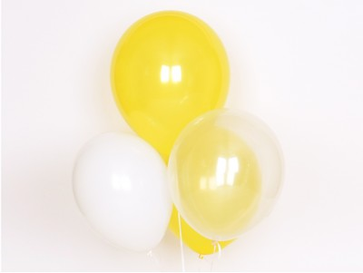 Ballons Trio jaune
