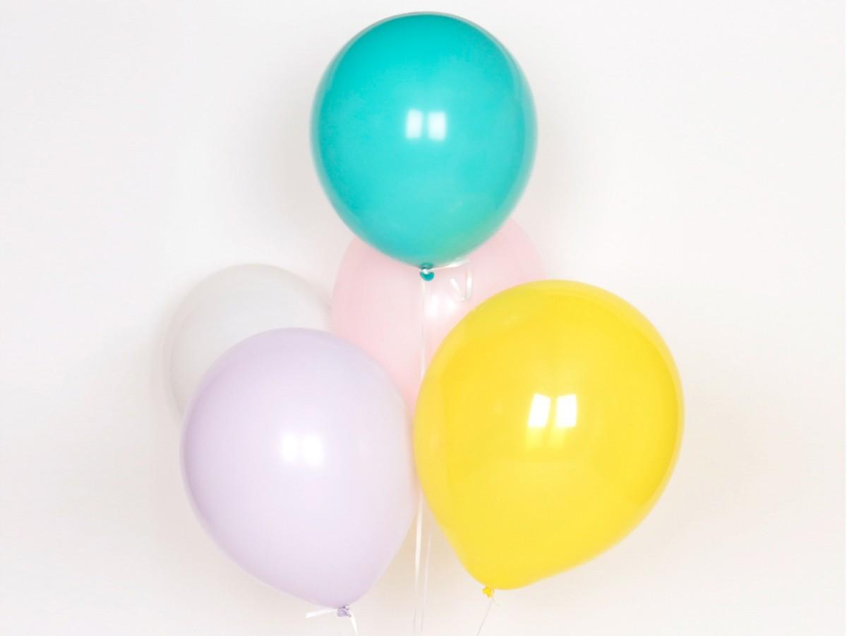 Ballons Trio pastel