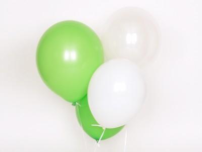 Ballons Trio vert