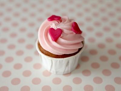 Cupcake d'amour