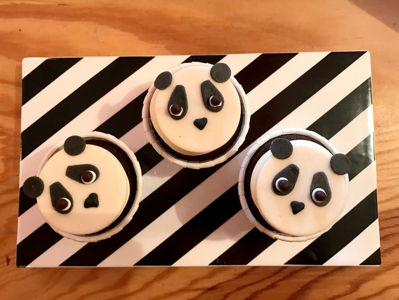 Cupcake Panda