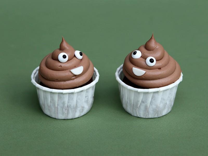Cupcake Poop