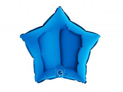 Étoile métalisée Bleu