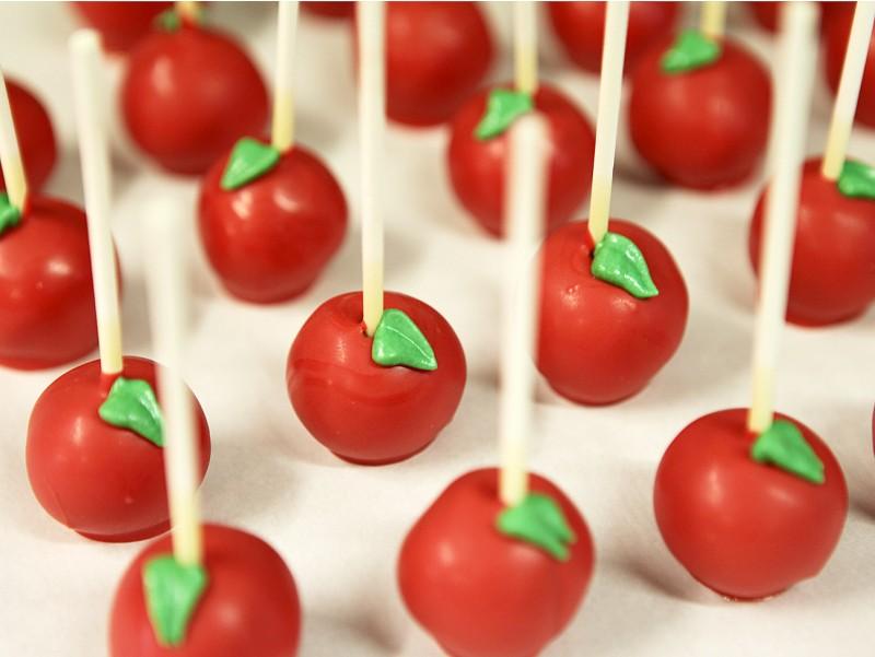 Cakepops Pomme d'amour
