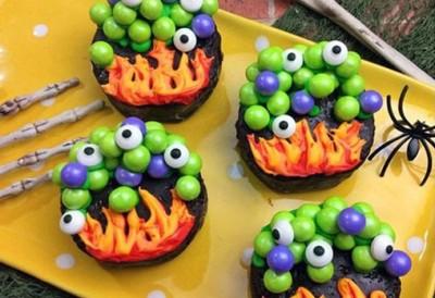 Atelier Gouter - Cupcakes terrifiants cover image