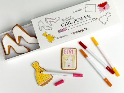 Coffret Girl Power à colorier