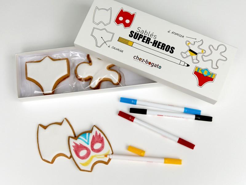 Coffret Super-Heros à colorier