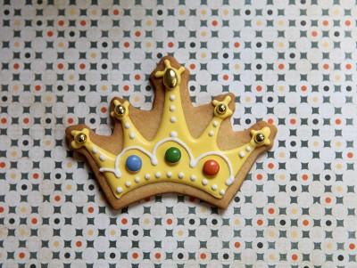 Sablé Couronne de Roi