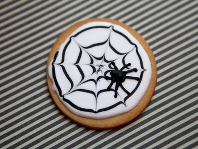 Sablé Halloween - Araignée