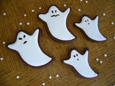 Sablé Halloween - Fantome