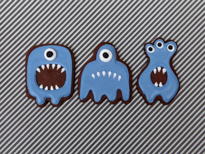 Sablé Halloween - Monstre