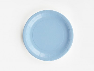 Assiettes - Bleu