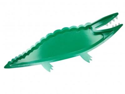 Grandes assiettes Crocodiles