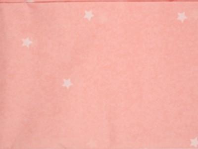 Nappe à étoiles rose