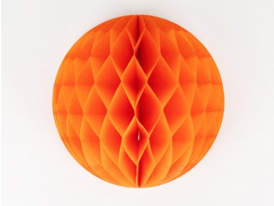 Boule de papier - Orange