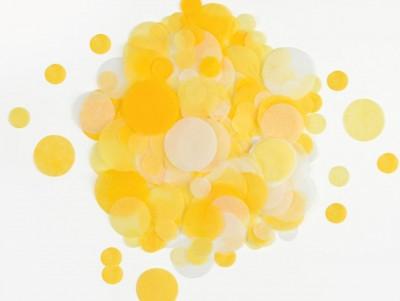Confettis jaune & or