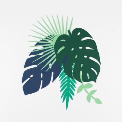 Feuilles tropicales