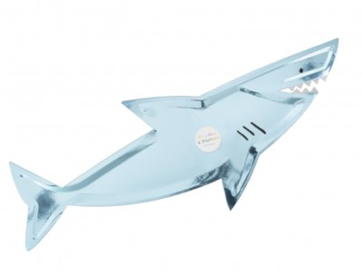 Grandes assiettes Requin