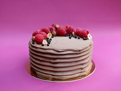 Gâteau chocodoux & framboise