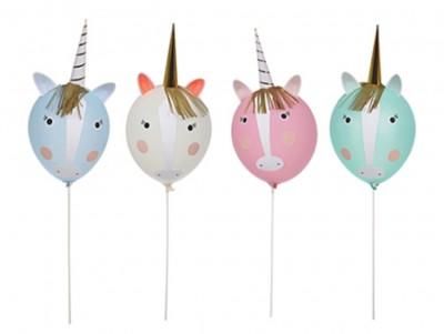 Kit ballon à décorer Licorne