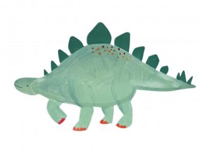 Grandes assiettes Dinosaures