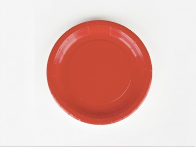 Assiettes - Rouge