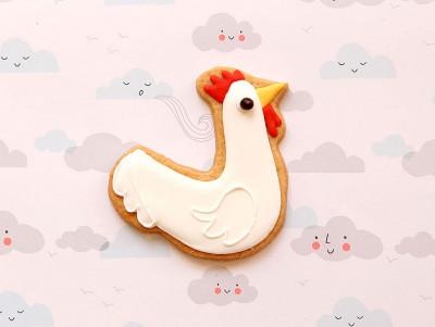 Sablé poulette