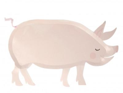Assiettes Cochon